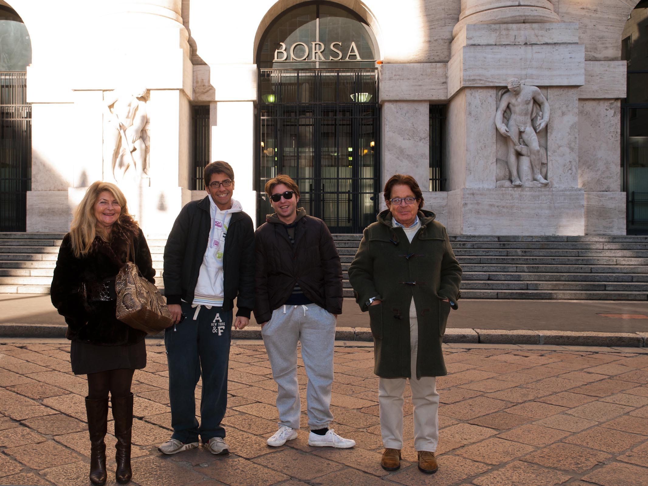 Carolina, Andrea, Francesco e Sergio S.