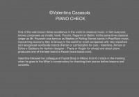 20 - PIANO CHECK testo