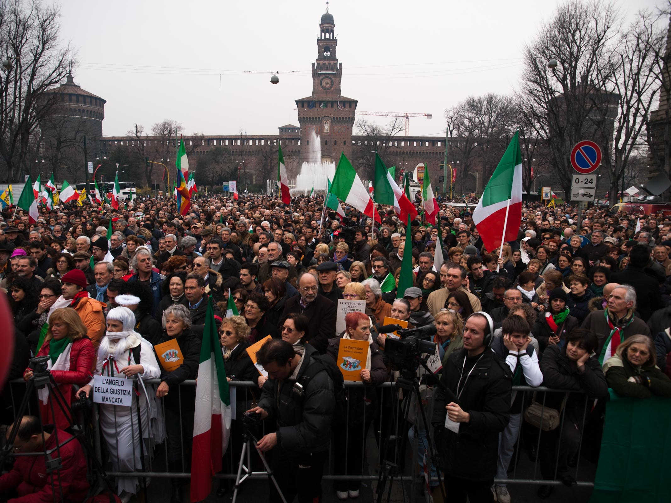 March 12th 2011 - Piazza Castello, Milano (Italy)