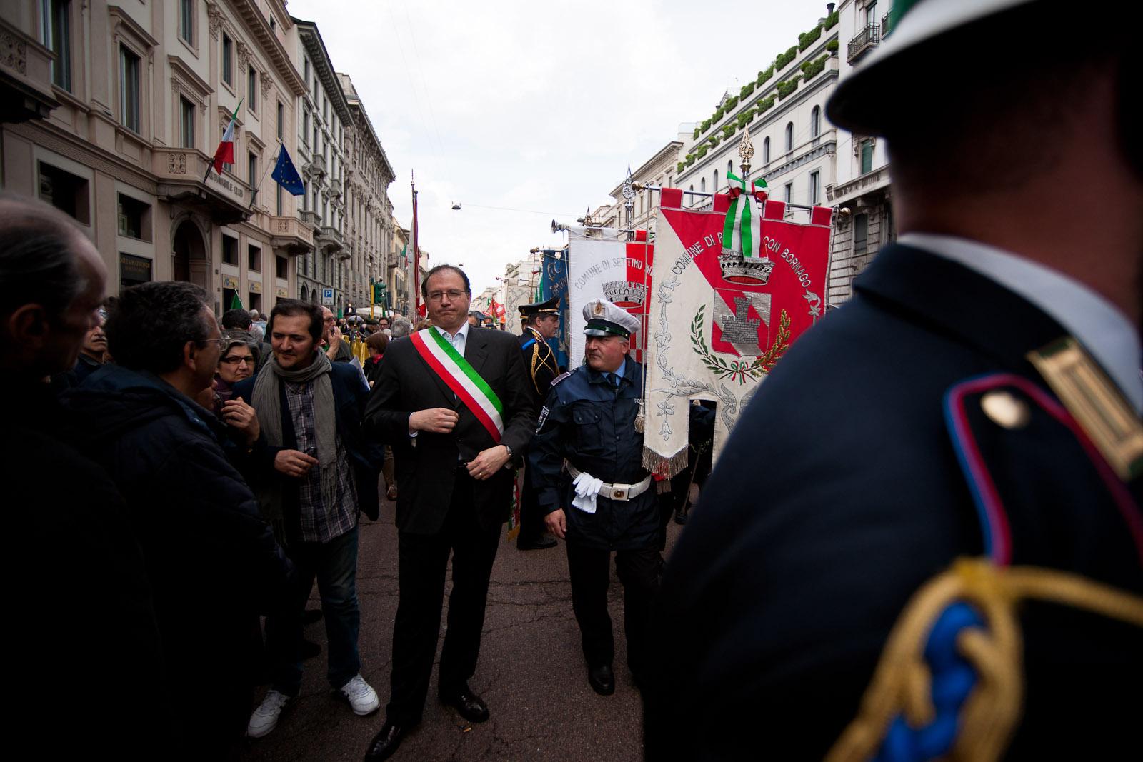 03 - Mayor of Bornago (small town near Milano)