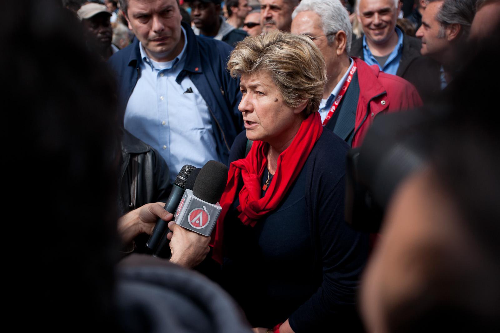 05 - Mrs Susanna Camusso (Leader of CGIL Italian biggest Union Organisation)