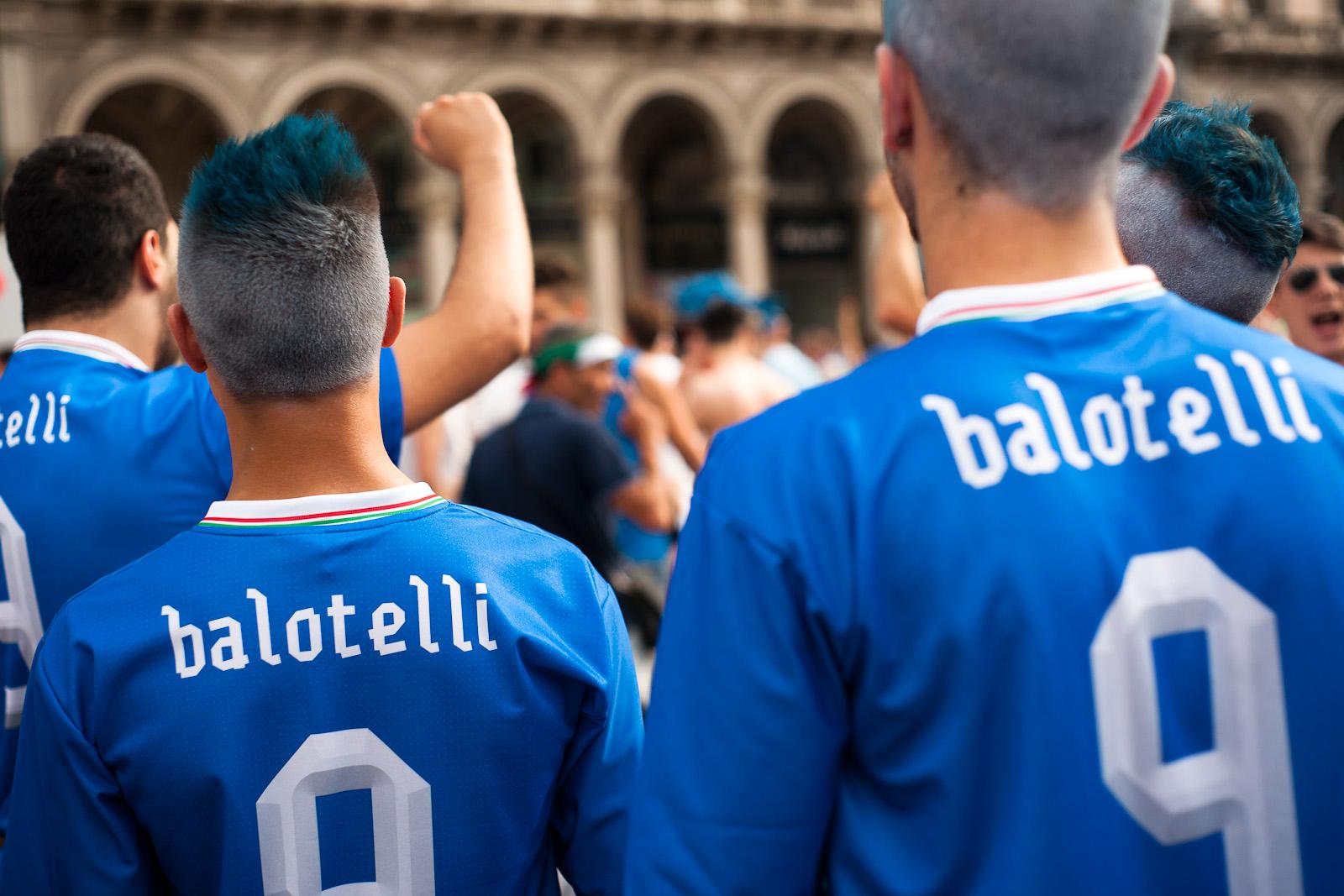 Balotelli's Fans
