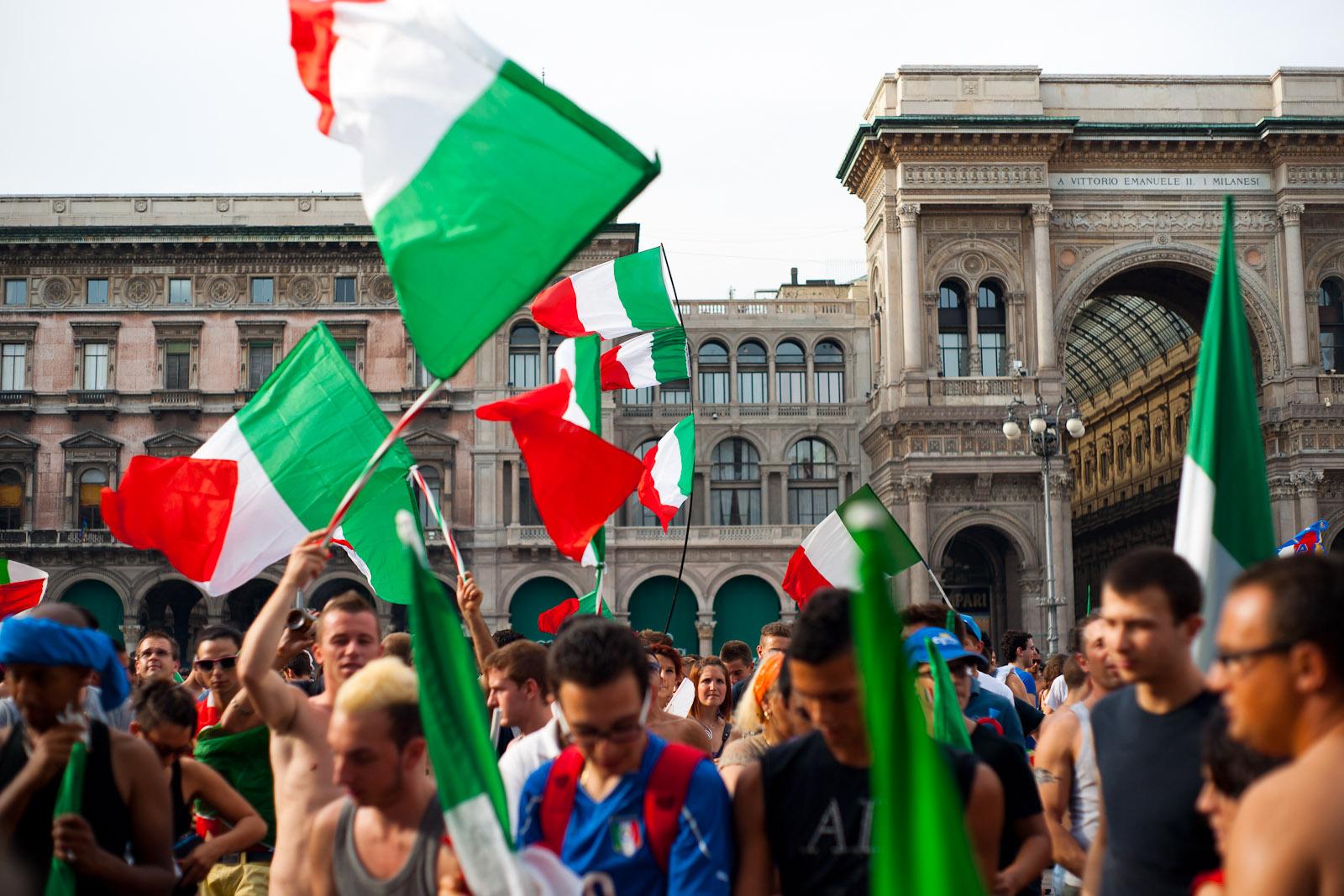 The three Italian colors
