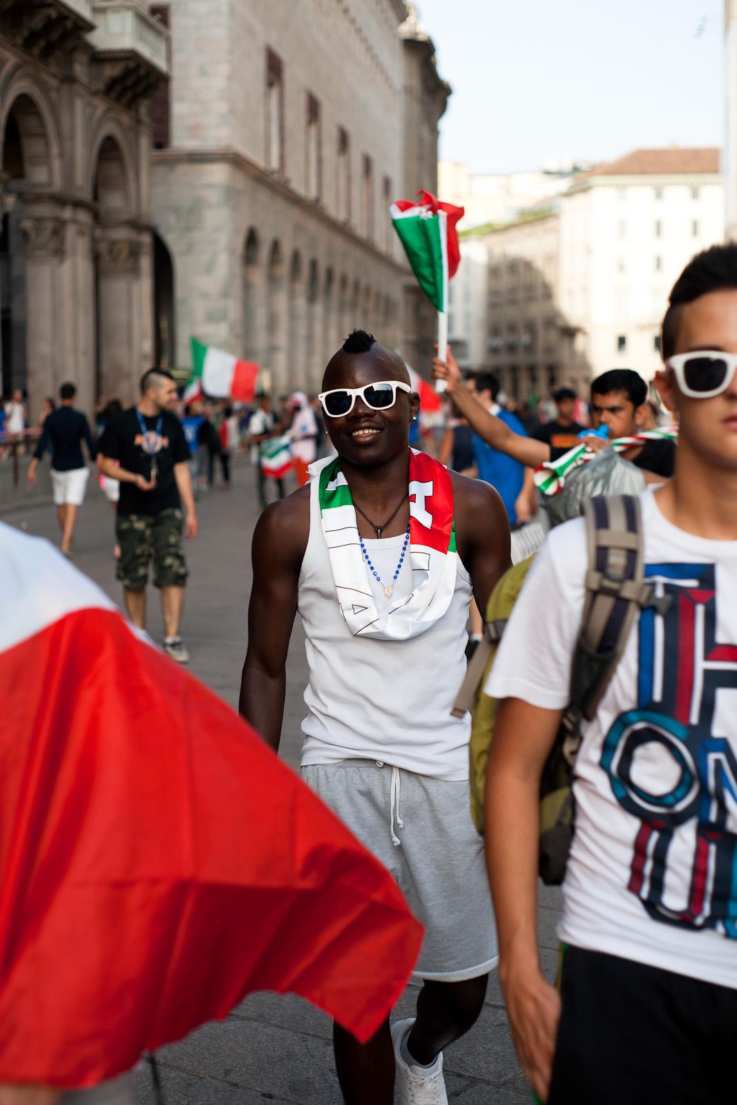 The Balotelli's Italy
