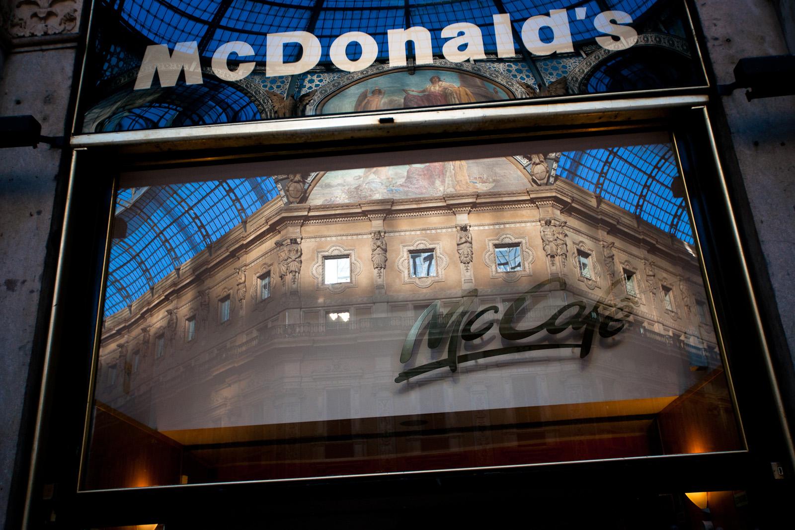 MCD in Galleria deve chiudere