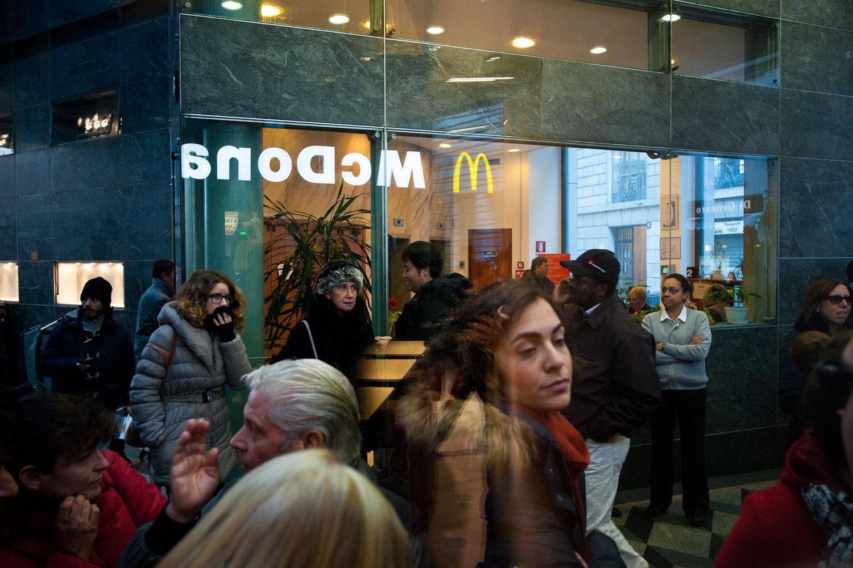 Life at MCD Galleria 2 Restaurant