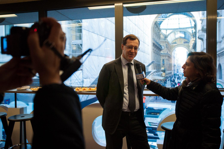 Interview at the Italian CEO Mr. Roberto Masi