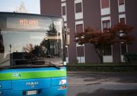 The bus to Milan